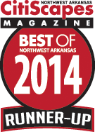 Fayetteville Psychotherapy Associates, voted one of the best of Northwest Arkansas again in 2014